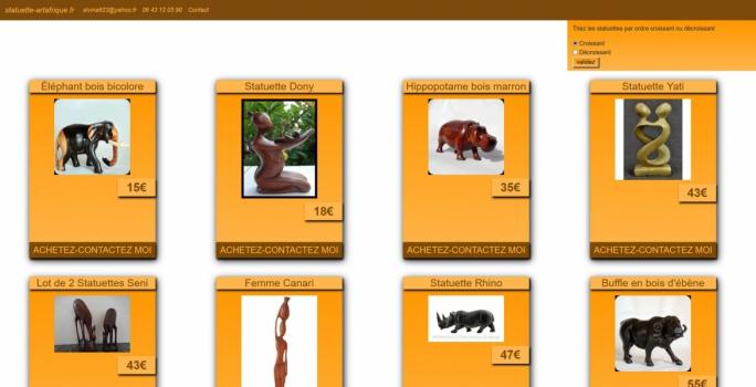 site vitrine webmaster indépendant de Paris